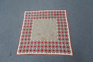 Image Is Loading CROSS STITCH HAND EMBROIDERY SUZANI TABLECLOTH  TEXTILE ETHNIC