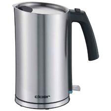 Cloer Cool-Wall-Wasserkocher 4909 Edelstahl 1,2 l Fassungsvermögen 1.800 Watt