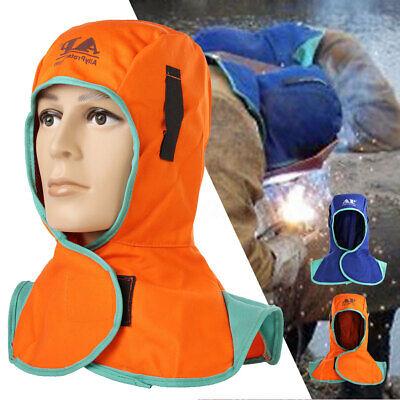 Protective Welding Hood Helmet Cover Cap Head Neck Protection Resistant