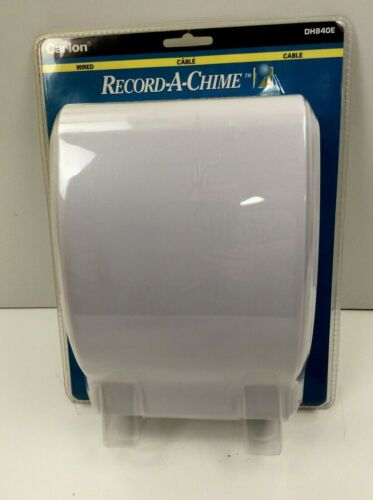 New Sealed Carlon DH840E Wired Record-A-Chime Door Chime Doorbell Record A Song