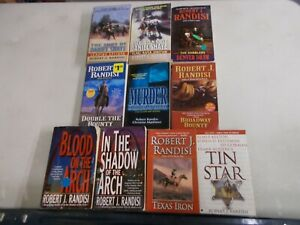 Details about 10 ROBERT J RANDISI BOUNTY MURDER BLOOD SHADOW DENVER TIN  STAR IRON SHAYE pb