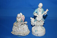 Porzellan Figur Barock Mann Frau Paar Musikanten Mädchen Junge Porzellanfigur
