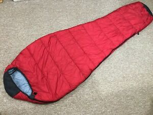 Trailhead Mummy Sleeping Bag Red