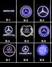 Led Logo Door Light Benz C CLK class W203 W208 W209 W240 projetor 3D no drilling