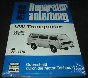 Reparaturanleitung-VW-Transporter-T3-T-3-1-6-2-0-Bulli-ab-Juni-1979-NEU