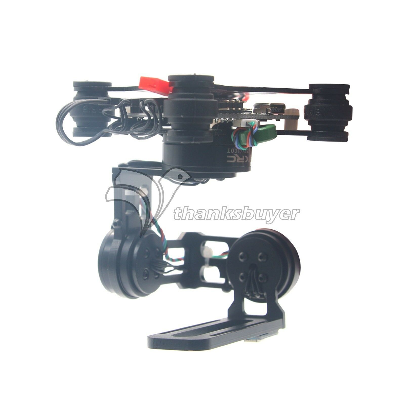 HAKRC Storm32 3 Axis Brushless Gimbal Stabilizer for Gopro3    Gopro4 FPV Drone  prezzi bassi di tutti i giorni