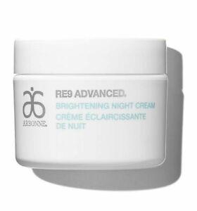 Arbonne-RE9-ADVANCED-Brightening-Night-Cream-50g-50ml-BNIB-Anti-Ageing-Vegan
