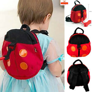 Walking Safety Backpack Harness Reins Toddler Bag For Kids Children ... 1917c01599bea