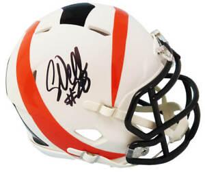 Corey Dillon Signed Cincinnati Bengals AMP Riddell Speed Mini Helmet - SCHWARTZ