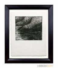 Henry MOORE - HAND SIGNED - Lithograph ORIGINAL Ltd. Ed. no.72 w/ +Custom FRAME
