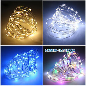 Image Is Loading Diy 2m 4m Fairy Lights Battery Operated Led