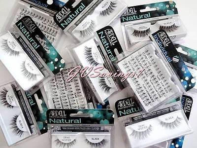 (PICK ANY!) 10 ARDELL LASHES Invisibands Natural False Fake Eyelash Fashion Lot