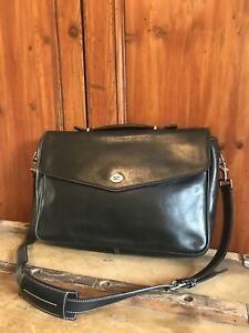 Coach Vtg Bag f06457 Briefcase Clean Messenger Morgan Leather Mail HqdUqwZ 5b4e786a1a7a6
