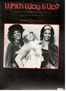 STARGARD-WHICH-WAY-IS-UP-SHEET-MUSIC-PIANO-VOCAL-GUITAR-CHORDS-1978-RARE-NEW