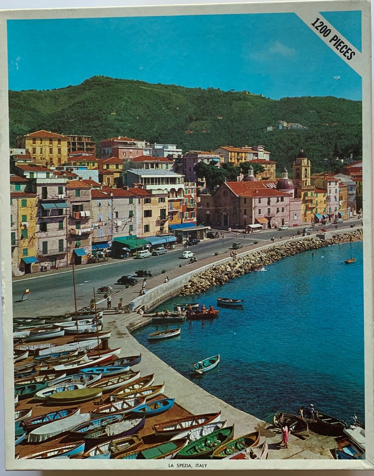 1200 Piece Fully Interlocking Jigsaw Puzzle 'La Spezia, ' (Brand New)