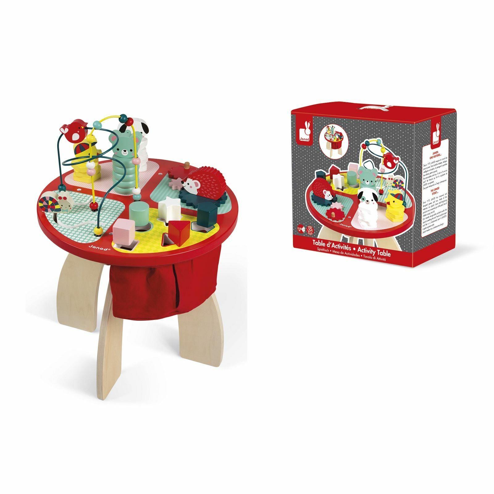 Janod bebis Forest träen Activity Play Table bebis Kiddler Pre skola