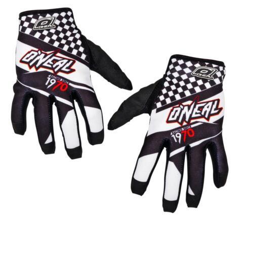 ONeal Mayhem Afterburner MX Handschuhe schwarz weiß Moto Cross Mountainbike MTB