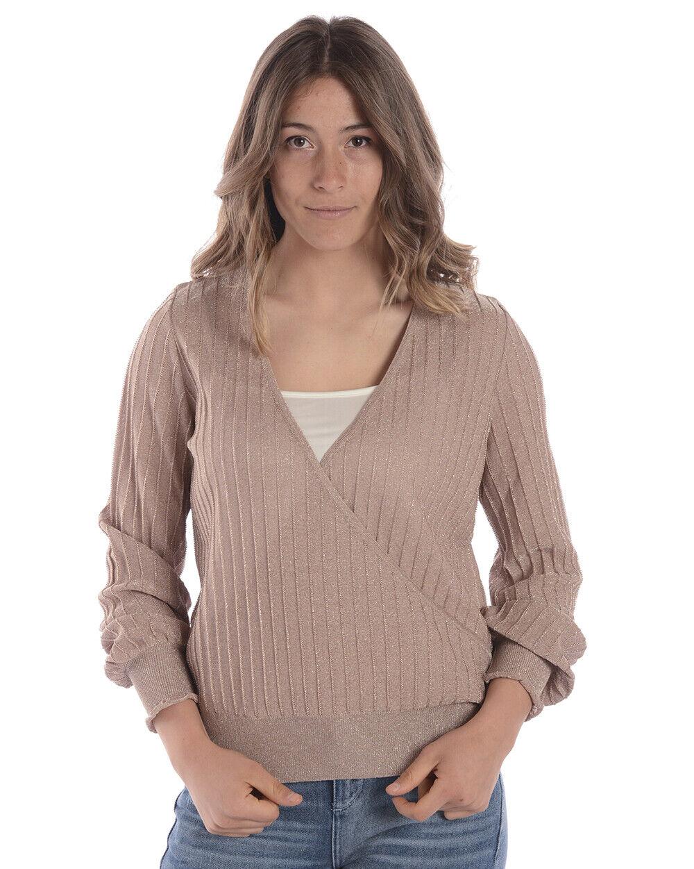 Maglia Maglietta Liu Jo Sweater MADE IN ITALY damen Rosa Z18025MA56G 4047