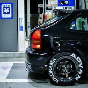 Spoiler base plate ABS for Honda Civic Type-R Ek9  Seeker V2 96-00 Ek Ej 3dr Jdm
