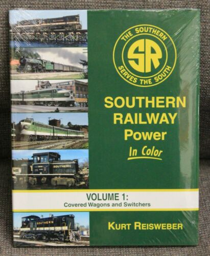 HC 128 Pages SOUTHERN RAILWAY POWER In Color Volume 1 MORNING SUN BOOKS 1563