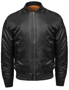 FashionOutfit-Men-039-s-Classic-Basic-Air-Force-Flight-Zipper-Details-Bomber-Jacket