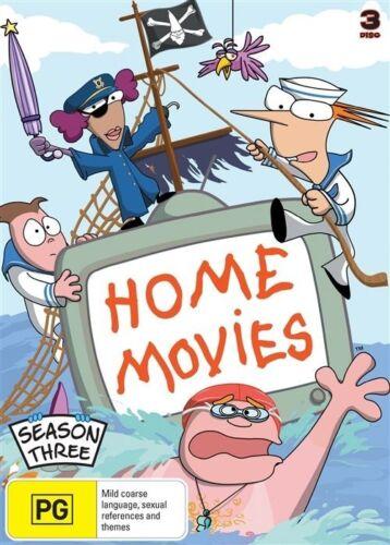 1 of 1 - Home Movies : Season 3 (DVD, 2009, 3-Disc Set)