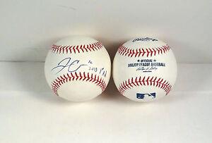 "Jonathon Crawford Signed Autograph MLB Baseball ""2013 1ST RD"" COA"