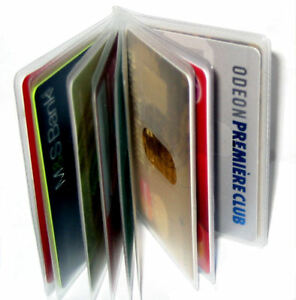 Replacement Credit Card Purse Sleeves / Wallet Inserts for 10 Cards
