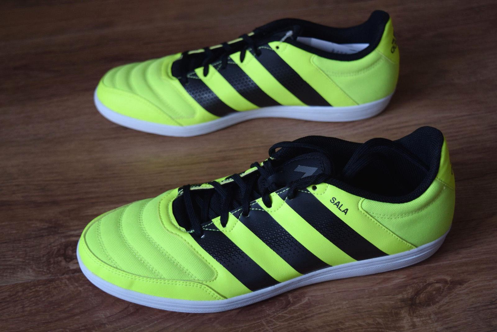 b8cc51b2a Scarpe Calcetto Indoor adidas Ace 16.4 Street CALCIO a 5 Futsal Yellow 44  2/3 for sale online | eBay