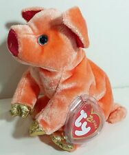"TY Beanie Babies ""PIG (Zodiac)"" - MWMTs! RETIRED! PERFECT GIFT! A MUST HAVE!"
