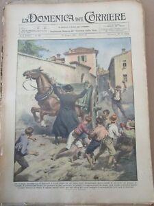 *DOMENICA DEL CORRIERE N 25 - 1931 parroco nella bergamasca - OVOMALTINA IN DO X - Italia - *DOMENICA DEL CORRIERE N 25 - 1931 parroco nella bergamasca - OVOMALTINA IN DO X - Italia
