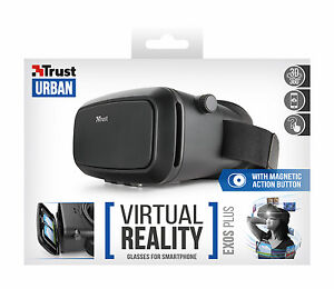Trust 21534 Exos Plus Virtual Reality Glasses Headset For 35 To 6