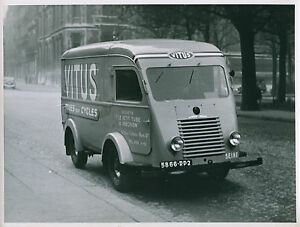 camion fourgon renault utilitaire vers 1950 ebay. Black Bedroom Furniture Sets. Home Design Ideas