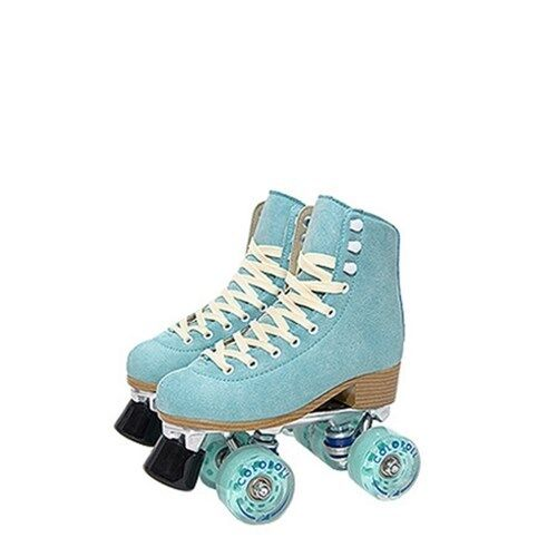 Korea colorRoll colorful Roller  S  For Junior Adult Sky Mint With PVC Bag  a lot of concessions