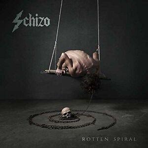 Schizofrenico-Marcio-Spirale-CD-THRASH-Nero-Metallo-Necrodeath-Bulldozer-Mefisto