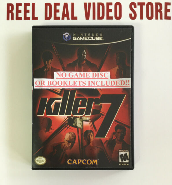 Killer7 GameCube Replacement Cover + DVD Case!!!
