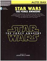 Star Wars Sheet Music For Alto Sax The Force Awakens, Kylo Ren, Rey, Finn, More