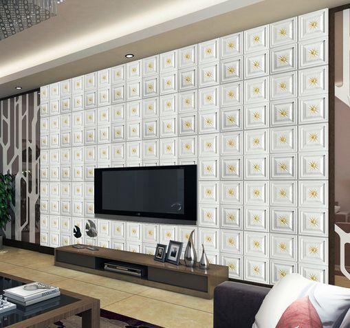 3D Viele whitee Quadrate 8 Fototapeten Wandbild Fototapete BildTapete Familie DE