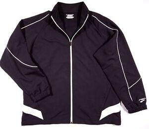 Brooks-Zip-Up-Windbreaker-Jacket-Size-Large-Men-039-s