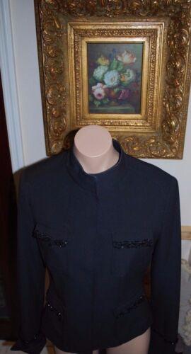 Black Jacket ontwerper Maat sDoor Allen 8 Schwartz Mooie A b X8OwPn0k