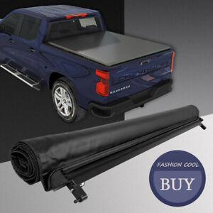 Soft Roll Up Tonneau Cover For 2014-2018 Ford Ranger Fleetside 5 Ft Short Bed