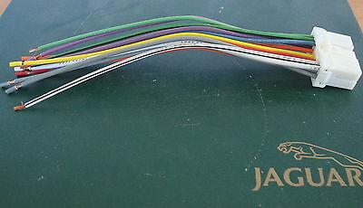 NEW JAGUAR XJS 93 RADIO REVERSE HARNESS OR RADIO FACTORY HARNESS