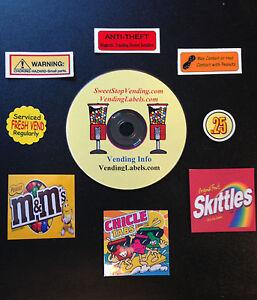 Bulk-Vending-Info-Vendstar-plus-Bonus-FREE-labels-Digital-Delivery