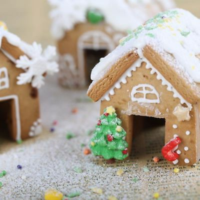 Christmas Gingerbread House Cookie Cutter Kits Stainless Steel Biscuit Mold Tool Ebay