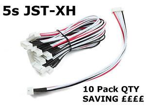 5s-lipo-balance-de-extension-de-alambre-Cargador-Cable-JST-XH-20cm-Qty-10-PK