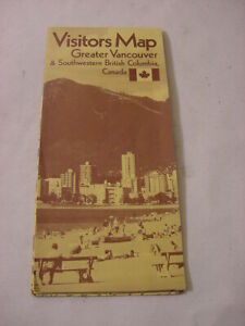 1971-VISITORS-MAP-GREATER-VANCOUVER-amp-SOUTHWESTERN-BRITISH-COLUMBIA-CANADA