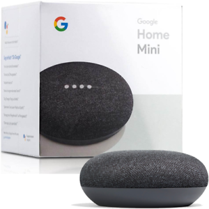 GOOGLE-HOME-MINI-ASSISTENTE-VOCALE-VERSIONE-UK-ORIGINALE-GOOGLE-COLORE-NERO