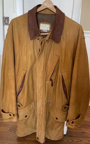 Lone Pine Nubuck leather jacket