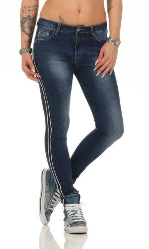 11360 salsiccia Jeans Da Donna Jeans a Sigaretta Pantaloni Denim Donna Jeans Skinny