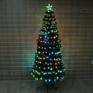 image is loading 2ft digital pre lit fibre optic christmas tree
